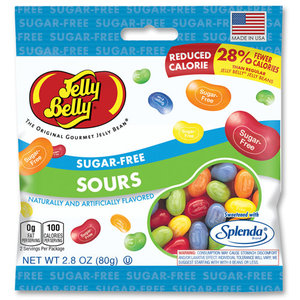 Redstone Foods Jelly Belly Sugar Free Peg Bags - Sours