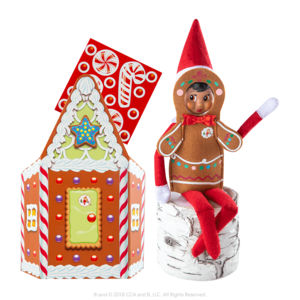 The Elf on the Shelf Claus Couture Jolly Gingerbread Activity Set