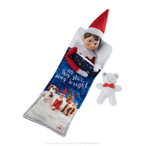 The Elf on the Shelf Claus Couture Scout Elf Slumber Set