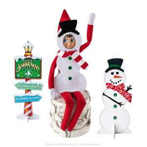 The Elf on the Shelf Claus Couture Silly Snowman Set