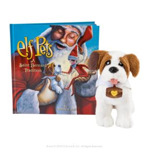 The Elf on the Shelf Elf Pets®: A St. Bernard Tradition