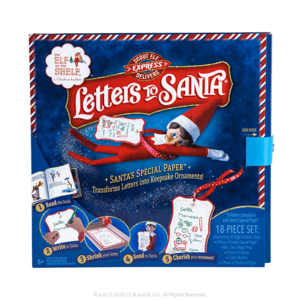 The Elf on the Shelf Scout Elf Express Delivers-Letters to Santa