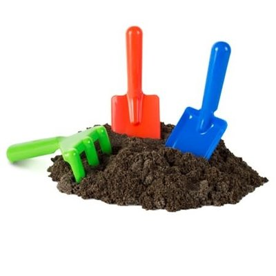 Play Visions Bag O' Dirt - Includes 3 Garden Tools!
