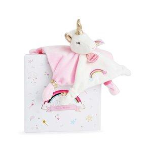 """Hotaling Imports Unicorn Baby Blanket Lovey - 13.8"""""""