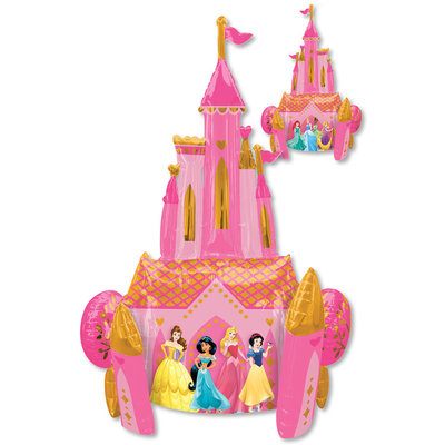 Balloons.com 55 Inch - Airwalker Balloon - Disney Princess - Once Upon Time Balloon (with helium)