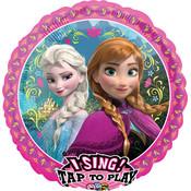 Balloons.com Sing A Tune - Frozen Anna & Elsa (28 inch) Balloon (with helium)