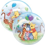 Balloons.com Winnie The Pooh & Friends Bubble  Balloon (with helium)