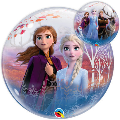 Balloons.com Disney Frozen 2 Bubble Balloon (with helium)