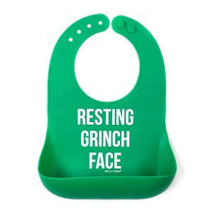 Bella Tunno Grinch Face Wonder Bib