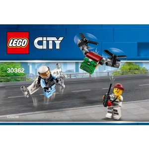 Lego 30362 LEGO City Sky Police Jetpack Impulse