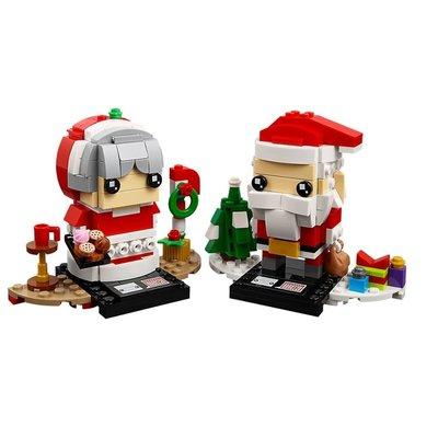 Lego 40274 LEGO BrickHeadz Mr. & Mrs. Claus