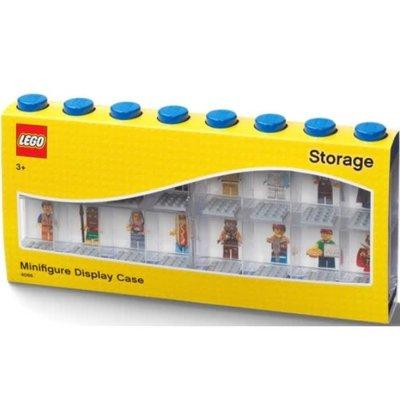 Lego 40661731 LEGO Minifigure Display Case 16 (8 knob) Bright Blue w/figure