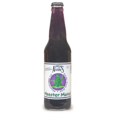 Redstone Foods AVERYS - MONSTER MUCUS SODA (STRAWBERRY BLUE RASPBERRY)