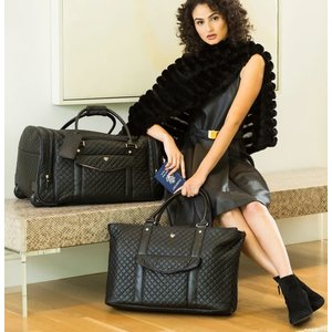 PurseN VIP TRAVEL TOTE-TIMELESS QUILTED