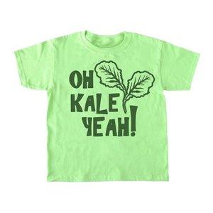 Bad Pickle Tees Oh Kale Yeah® Kid's Shirt | Green: