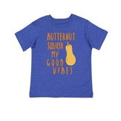Bad Pickle Tees Butternut Squash My Good Vibes Kid's Shirt: -