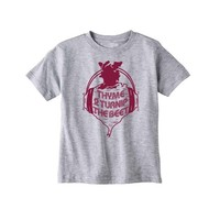 Bad Pickle Tees Thyme To Turnip The Beet Kid's Shirt | Gray: