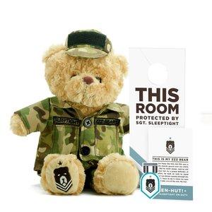 ZZZ Bears Sgt Sleeptight - Army