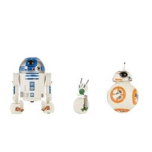 "BBCW Star Wars Figures - Ep IX TROS - 5"" Galaxy Of Adventures - R2-D2 / BB-8 / D-O 3-Pack"