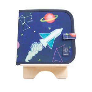 Jaq Jaq Bird Color It & Go Erasable Book - Constellations