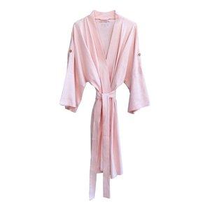 Cat & Dogma Creme de Peche Kimono Robe