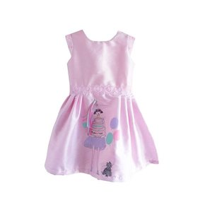 Fiveloaves Twofish Pink Birthday Wishes Party Dress