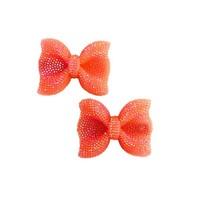 Fiveloaves Twofish Orange Hard Bow Clip Set