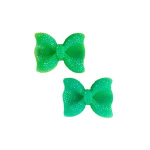 Fiveloaves Twofish Green Hard Bow Clip Set