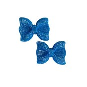 Fiveloaves Twofish Blue Hard Bow Clip Set