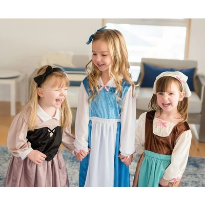 Little Adventures Beauty and the Beast - Belle Day Dress with Bow -