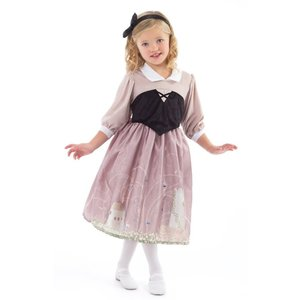 Little Adventures Sleeping Beauty Day Dress with Headband