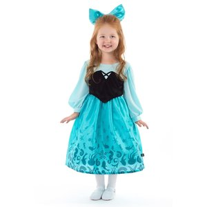 Little Adventures Little Mermaid - Princess Ariel - Day Dress with Bow Costume -