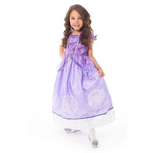 Little Adventures Sofia the First - Purple Amulet Princess Costume Gown -