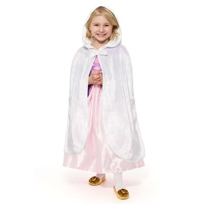 Little Adventures Child Cloak White -