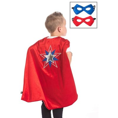 Little Adventures American Hero Cape & Mask Set