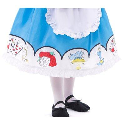 Little Adventures Alice in Wonderland with Headband Costume Dress -