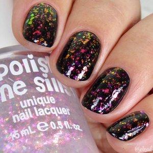 Polish Me Silly Fireworks - Unicorn Glow Nail Polish