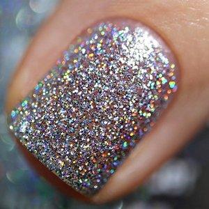 Polish Me Silly Disco Ball - Rainbow Sparkle Nail Polish