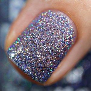 Polish Me Silly Purple Pizazz - Rainbow Sparkle Nail Polish