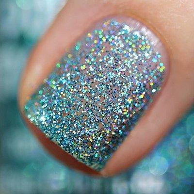 Polish Me Silly Chill Out - Rainbow Holographic Sparkle Nail Polish