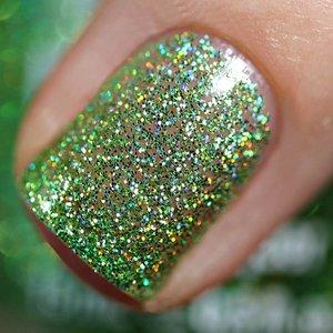Polish Me Silly Slime Time - Rainbow Sparkle Nail Polish