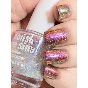 Polish Me Silly Bombshell - Fairy Dust Nail Polish