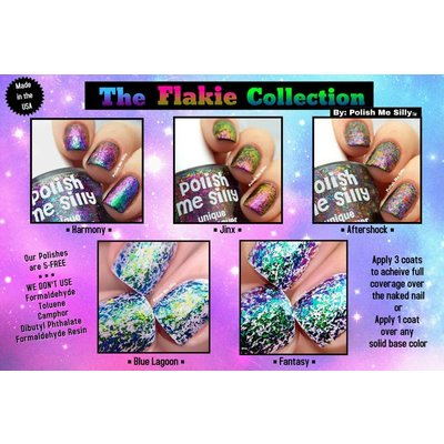 Polish Me Silly Aftershock- Flakie Nail Polish