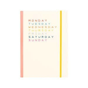 Talking Out of Turn PLANNER - WEEKDAYS