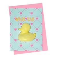 Feeling Smitten What the Duck Bath Card