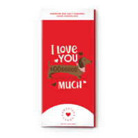 "Sweeter Cards Valentine's Day Chocolate Card: ""I Love You SoOoO Much"""
