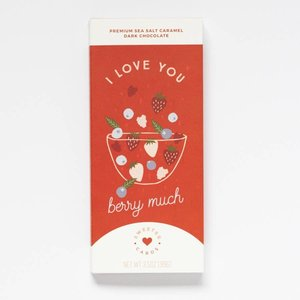 Sweeter Cards I Love You Card with Chocolate (Valentine's Day!)