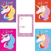 Paper Source Wholesale A-maze-ing Unicorn 4bar Assorted