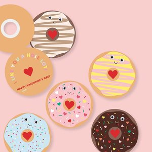 Paper Source Wholesale Donut Valentine Card Kit