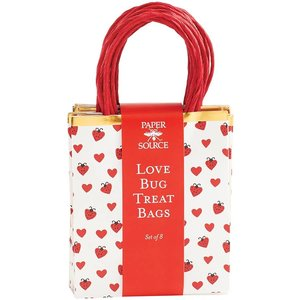 Paper Source Wholesale Love Bug Treat Bags (S/8)